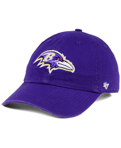 '47 Brand Baltimore Ravens CLEAN UP Cap
