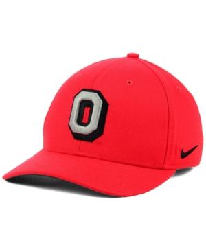 Nike Ohio State Buckeyes Vault Swoosh Flex Cap