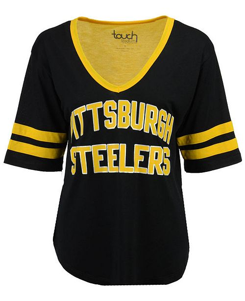 Touch by Alyssa Milano Women's Pittsburgh Steelers Quarterback T-Shirt