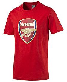 Puma Men's Arsenal FC Crest T-Shirt