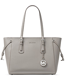 MICHAEL Michael Kors Voyager Multi-Function Medium Crossgrain Leather Tote