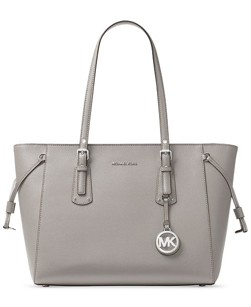 93faeca7add9b ... Michael Kors Voyager Multi-Function Medium Crossgrain Leather Tote ...