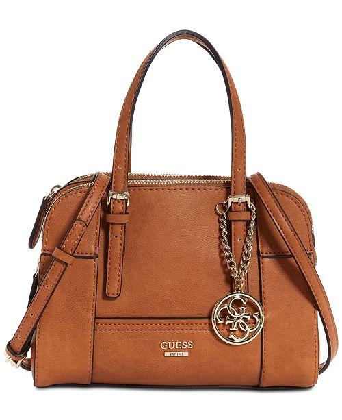 GUESS Huntley Small Cali Satchel   Reviews - Handbags ... 9f28b0012e245