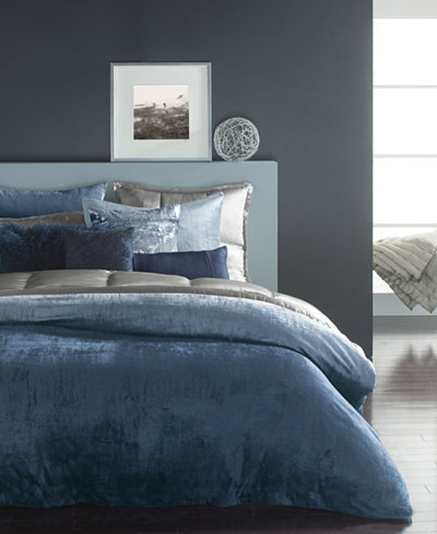 CLOSEOUT! Donna Karan Home Ocean King Duvet Cover