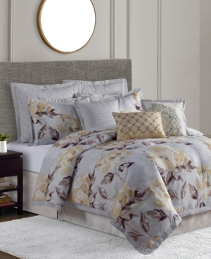 Diane 10Pc Full Comforter Set Bedding