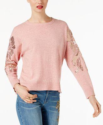 Pink Women's Sweaters - Macy's