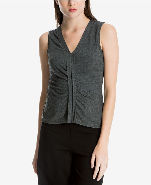 Max Studio London V-Neck Knit Top, Created for Macy's