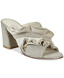 Women's Laken Ruffled Slides
