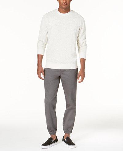 American Rag Men's Velour Souvenir Sweater, Created for Macy's