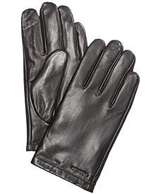 Calvin Klein Men's Leather Gloves
