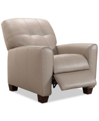 Kaleb Tufted Leather Recliner Created for Macy\u0027s  sc 1 st  Macy\u0027s & Accent Chairs and Recliners - Macy\u0027s islam-shia.org