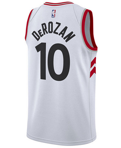 Nike Mens DeMar DeRozan Toronto Raptors Association Swingman Jersey ... 476312e64