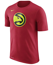 Nike Men's Atlanta Hawks Dri-FIT Cotton Logo T-Shirt