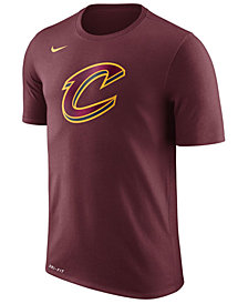 Nike Men's Cleveland Cavaliers Dri-FIT Cotton Logo T-Shirt