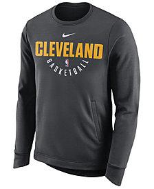Nike Men's Cleveland Cavaliers Practice Therma Crew Sweatshirt