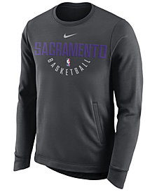 Nike Men's Sacramento Kings Practice Therma Crew Sweatshirt