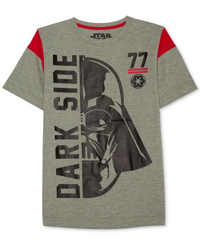 Star Wars Darth Vader-Print T-Shirt, Big Boys