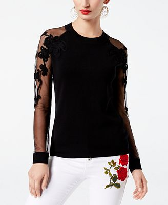 INC International Concepts Soutache Illusion Sweater, Created for Macy's