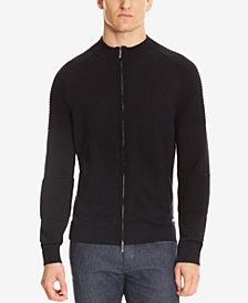 BOSS Men's Mercedes-Benz Virgin Wool Full-Zip Jacket