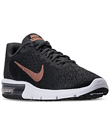 Nike Women's Air Max Sequent 2 Running Sneakers from Finish Line