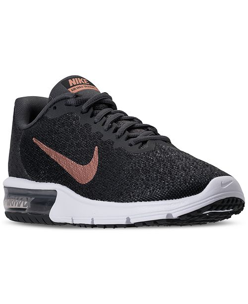 026305043ae4 Nike Women s Air Max Sequent 2 Running Sneakers from Finish Line ...