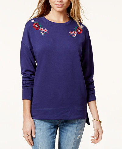 Carbon Copy Embroidered Sweatshirt