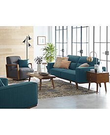 CLOSEOUT! Favianna Fabric Sofa Collection, Created for Macy's