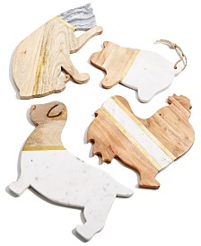 Thirstystone Marble & Wood Serving Board Collection