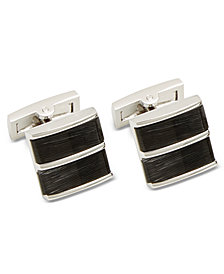 Ryan Seacrest Distinction™ Men's Cats Eye Cuff Links, Created for Macy's