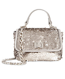 Steve Madden Blairr Sequined Chain Strap Crossbody