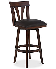 "Salem 30"" Swivel Bar Stool, Quick Ship"