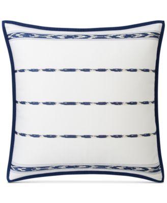 Luna Serape Stripe Cotton European Sham