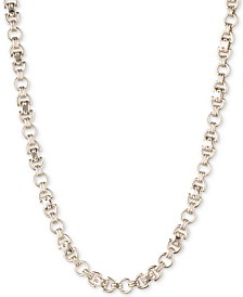 DKNY Gold-Tone D-Link Collar Necklace, Created for Macy's