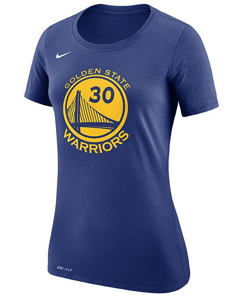 Women's Stephen Curry Golden State Warriors Name & Number Player T Shirt