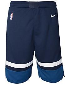Nike Minnesota Timberwolves Icon Swingman Shorts, Big Boys (8-20)