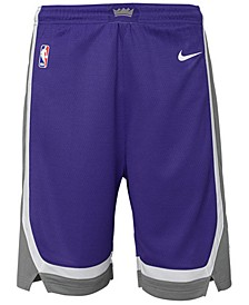 Sacramento Kings Icon Swingman Shorts, Big Boys (8-20)