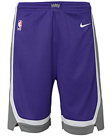 Nike Sacramento Kings Icon Swingman Shorts, Big Boys (8-20)