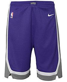 Nike Sacramento Kings Icon Swingman Shorts, Big Boys (8-20)