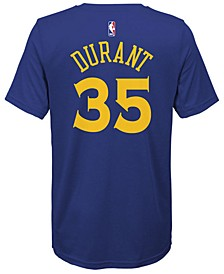 Kevin Durant Golden State Warriors Icon Name & Number T-Shirt, Big Boys
