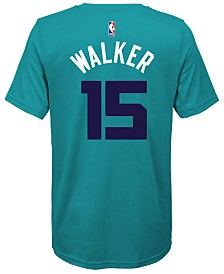 Nike Kemba Walker Charlotte Hornets Icon Name & Number T-Shirt, Big Boys (8-20)