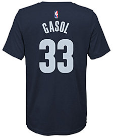 Nike Pau Gasol Memphis Grizzlies Icon Name & Number T-Shirt, Big Boys (8-20)