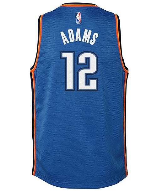 c6308bda3be ... Nike Steven Adams Oklahoma City Thunder Icon Swingman Jersey