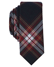 Original Penguin Men's Deming Plaid Skinny Tie