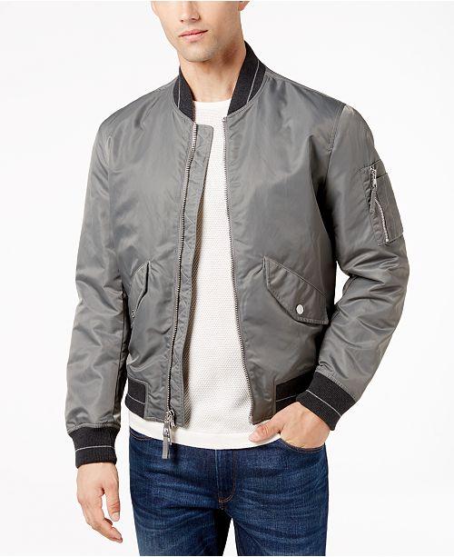 Michael Kors Men s Classic-Fit MA-1 Bomber - Coats   Jackets - Men ... 85cc254cc