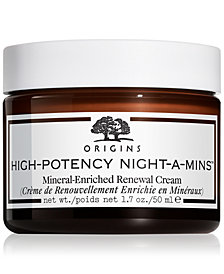 Origins High-Potency Night-A-Mins Mineral-Enriched Renewal Cream, 1.7 oz.