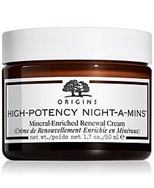 Origins High-Potency Night-A-Mins Mineral-Enriched Renewal Cream, 1.7 oz.