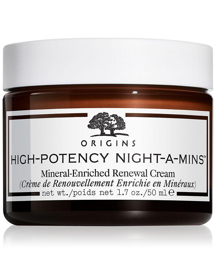 Origins - High-Potency Night-A-Mins Mineral-enriched renewal cream, 1.7 oz.