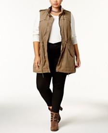 Levi's® Trendy Plus Size  Cotton Vest
