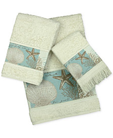 Bacova Coastal Moonlight Cotton Printed Bath Towel