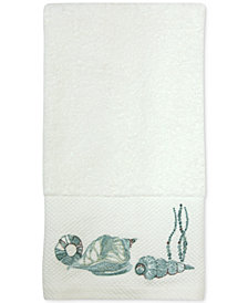 Bacova La Mer Cotton Embroidered Hand Towel
